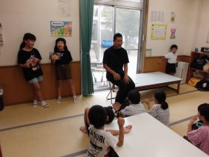 8/26 誕生会&ご褒美賞状授与