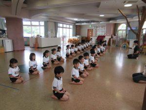 剣道教室に参加しました!!